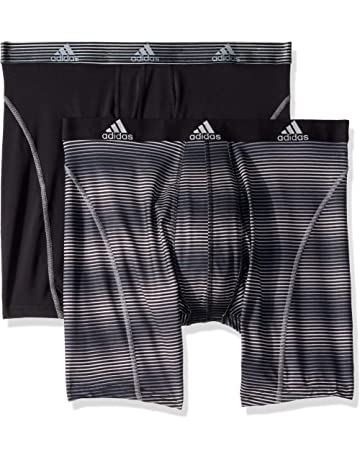 7aa33e73f9f4 adidas Men s Sport Performance Climalite 9-Inch Midway Underwear (Pack of  ...
