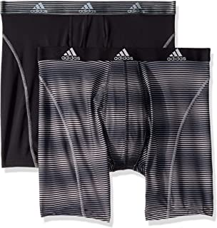 adidas Men s Sport Performance Climalite 9-Inch Midway Underwear (Pack of  ... ce09746b296