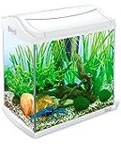 Tetra AquaArt Discovery Line Aquarium-Komplett-Set weiß (inklusive Tetra EasyCrystal FilterBox und Aquarienheizer, ideal für die Haltung von Garnelen, Krebse oder tropischen Zierfische), verschiedene Größen