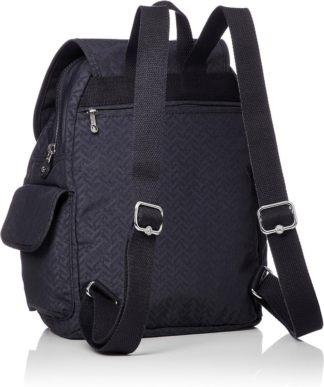 Kipling City Pack S, Mochila para Mujer, Azul (Night Blue Emb), 15x24x45 cm (W x H x L): Amazon.es: Zapatos y complementos