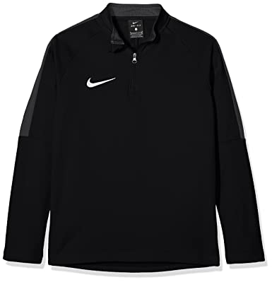 207aa4be Nike Kids Dry Academy 18 Drill Long Sleeve Top - Black/Anthracite/White,
