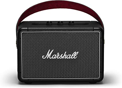Marshall Kilburn Portable Bluetooth Speaker Black NEW Free Shipping