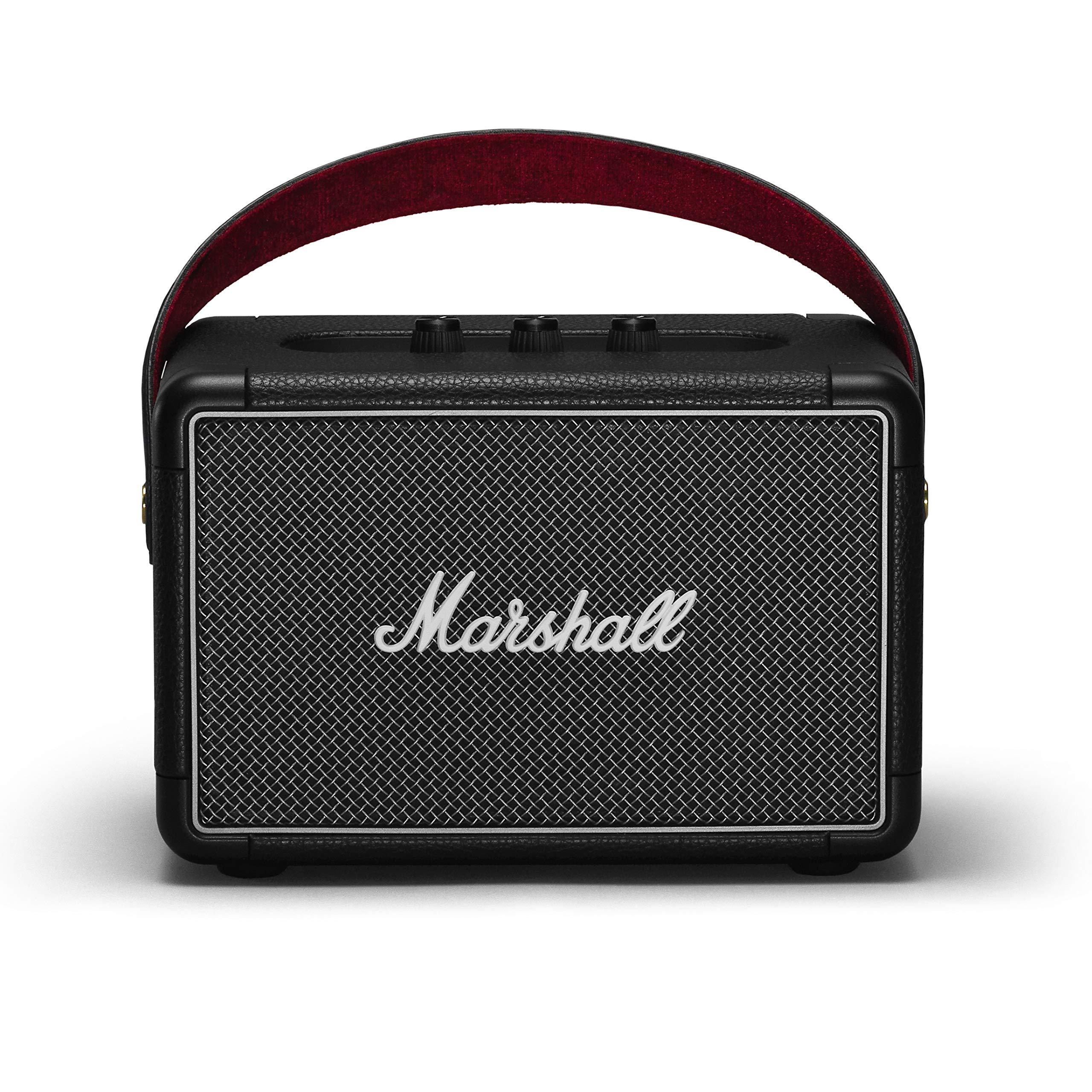 Marshall Kilburn II Portable Bluetooth Speaker - Black by Marshall