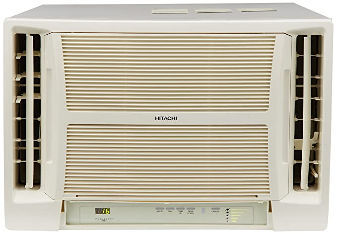 Hitachi 2.0 Ton 2 Star Window AC (Copper,SUMMER RAV222HUD White)