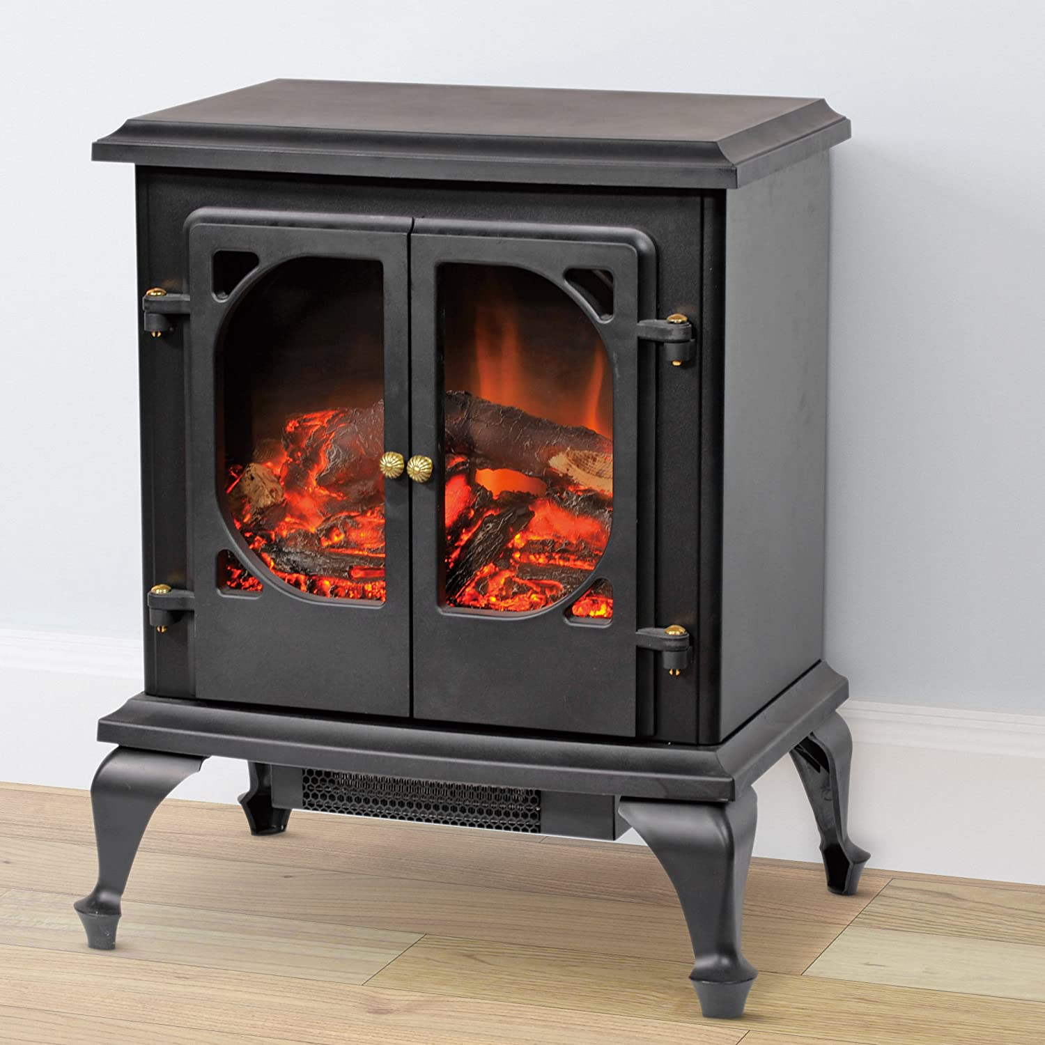 Amazon.com: CorLiving FPE-300-F Free Standing Electric Fireplace: Home & Kitchen