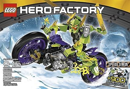 Amazoncom Lego Hero Factory 6231 Speeda Demon Toys Games