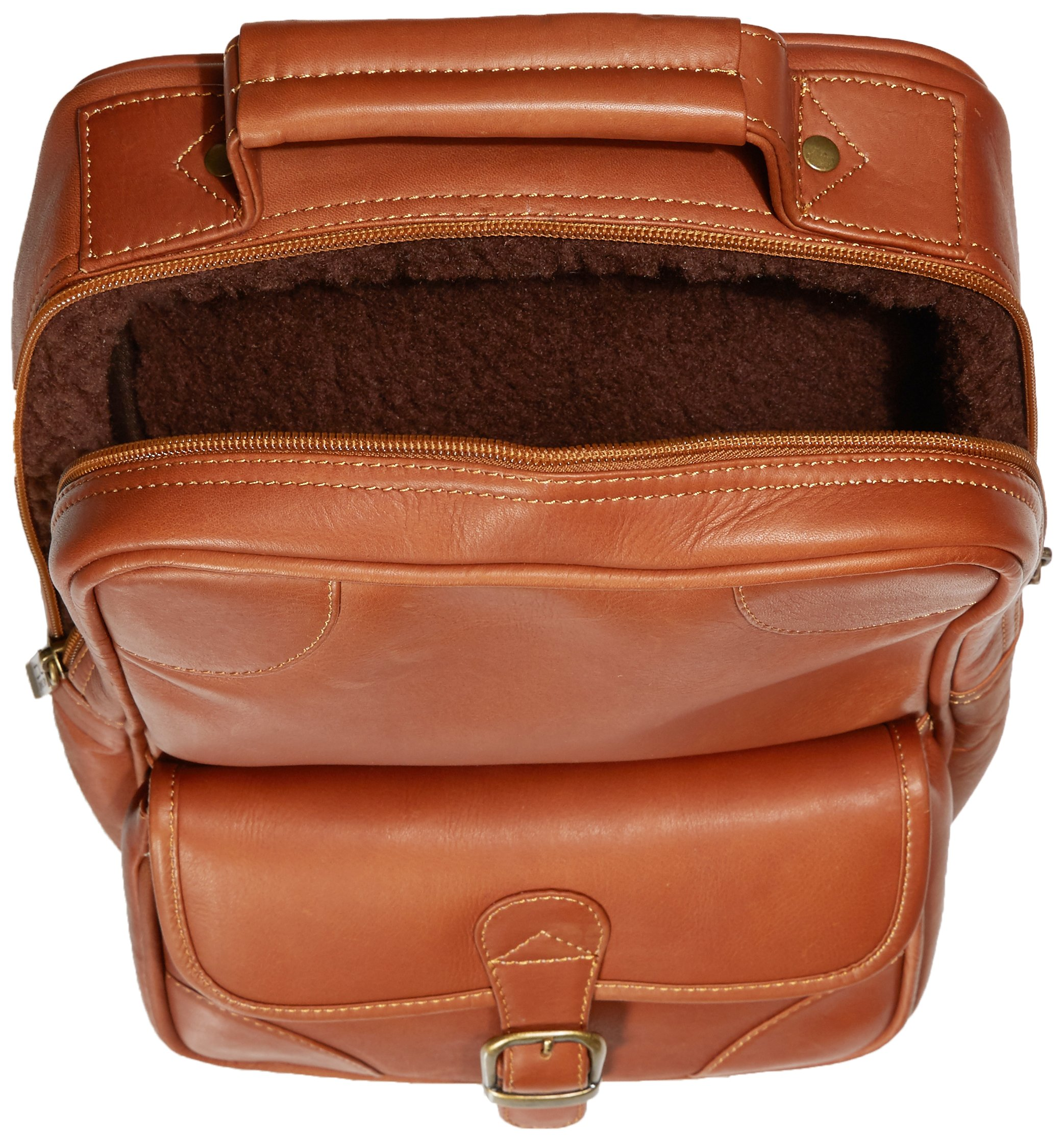 Claire Chase Upright Golf Shoe Bag, Saddle by ClaireChase (Image #5)