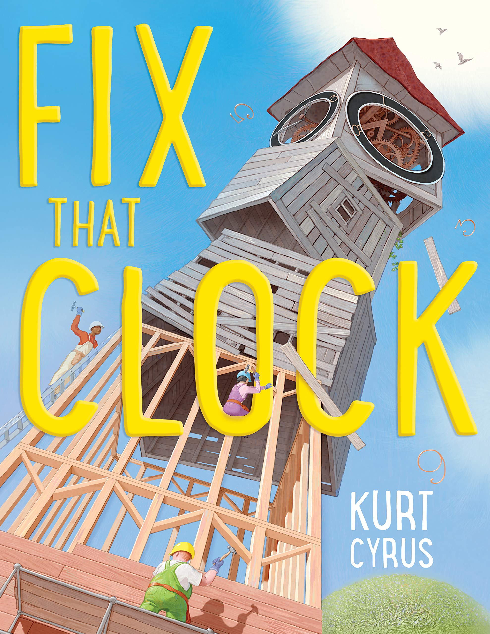 Image result for fix that clock cyrus
