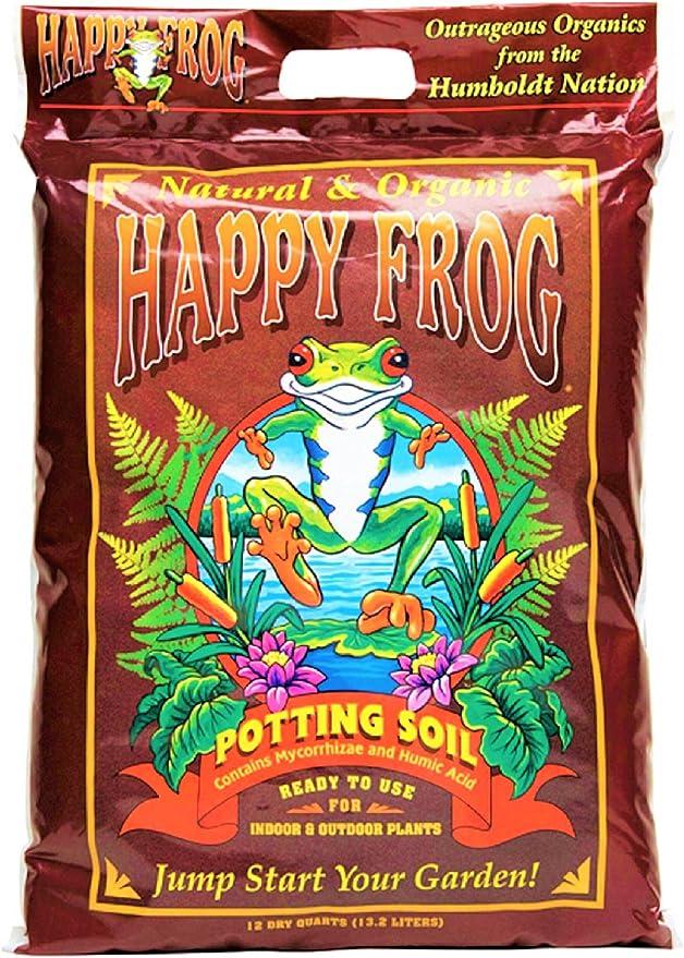 Fox Farm FX14240 Happy Frog Potting Soil - Jump Starter