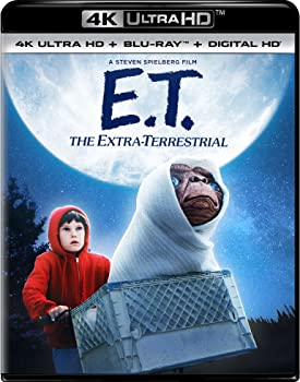E.T. The Extra-Terrestrial on 4K/UHD + Blu-ray + DVD + Digital