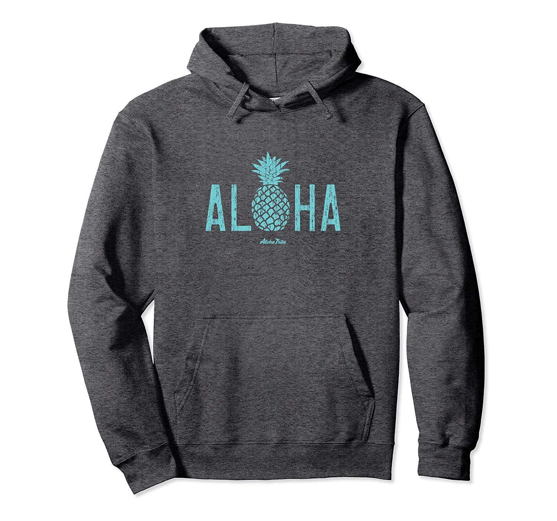 Aloha Pineapple Pullover Hoodie-TH