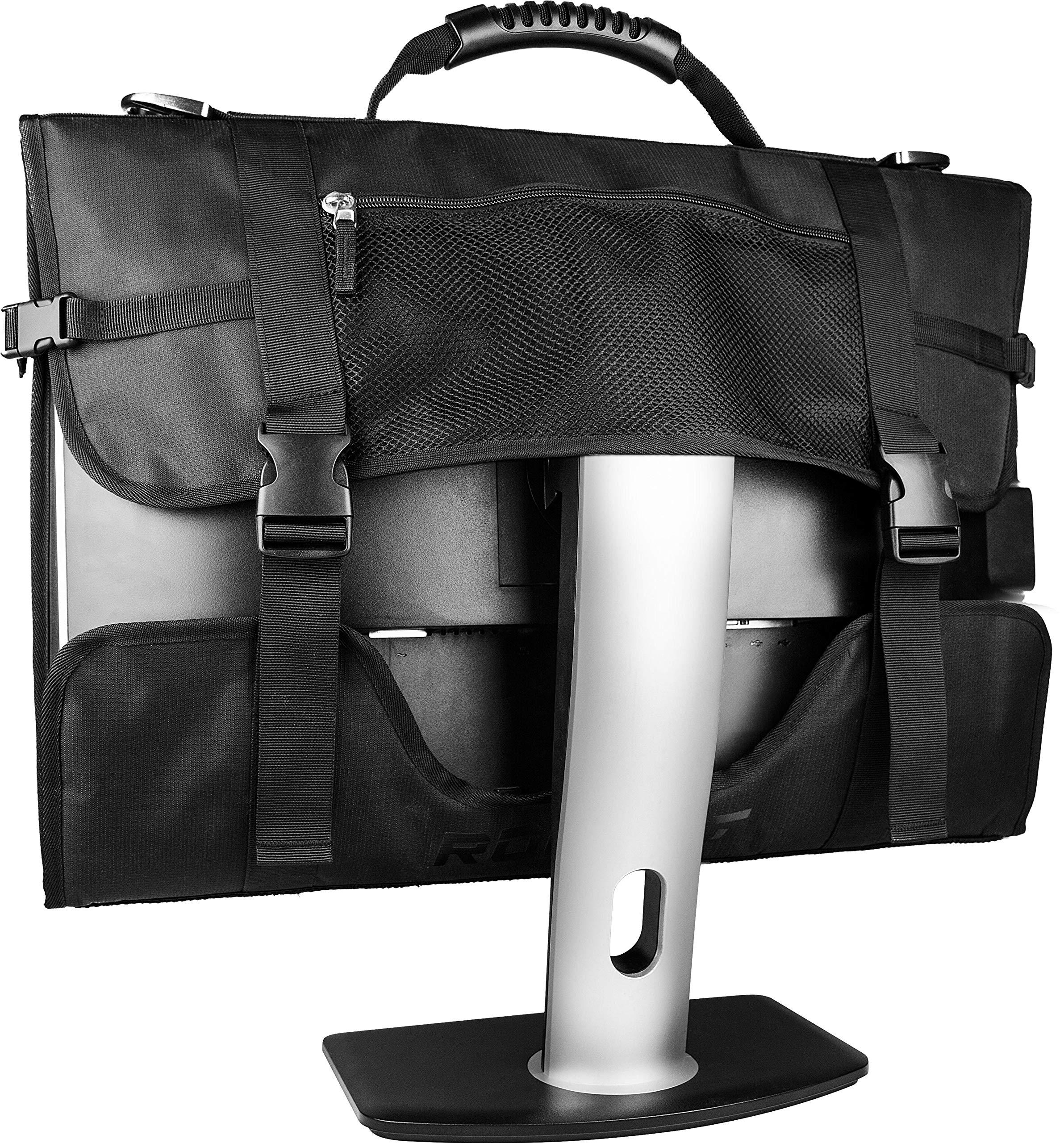 ROCCAT Latest Version Tusko Across-The-Board Flat Screen/Widescreen Bag, Black by ROCCAT (Image #4)