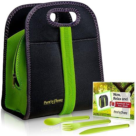Review Neoprene Lunch Bag For