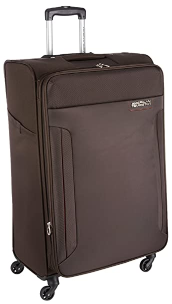 0178c1d8ac5 American Tourister Troy Polyester 79 cms Chocolate Brown Softsided Suitcase  (AMT Troy SP79 Choc Brown