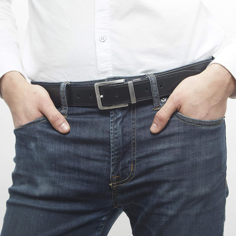 Essentials Cintur/ón reversible para hombre