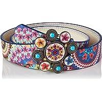 Desigual Women's Belt_New Mandala, Multi-Coloured