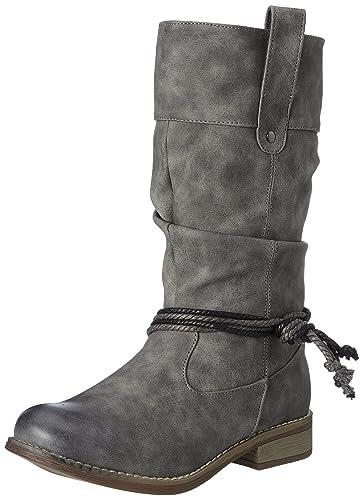 Hailys Damen BT Margy Stiefel, Grau (Grey), 41 EU