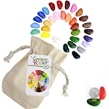 Crayon Rocks 32 Colors in Muslin Bag