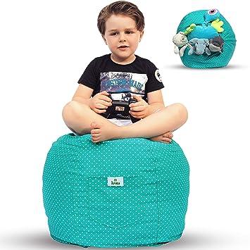 Amazon Com Kroco Extra Large Stuffed Animal Storage Bean Bag Chair