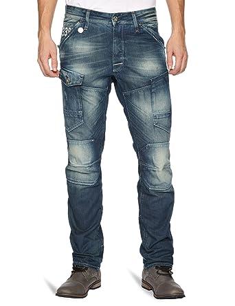 6c6e01001d9 G-Star Men's General 5620 3D Tapered Jeans, Blue (medium aged t.p. 3019