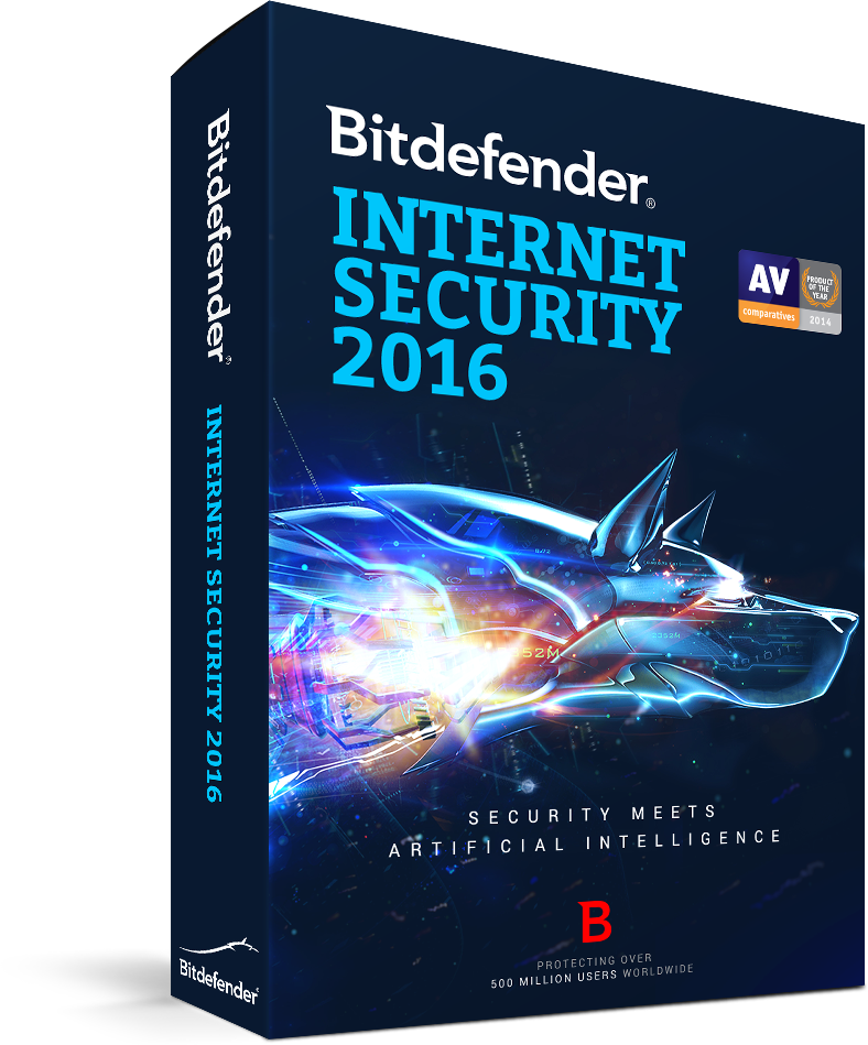 Bitdefender Internet Security 2016 up to 3 PC 1 year [Online Code]