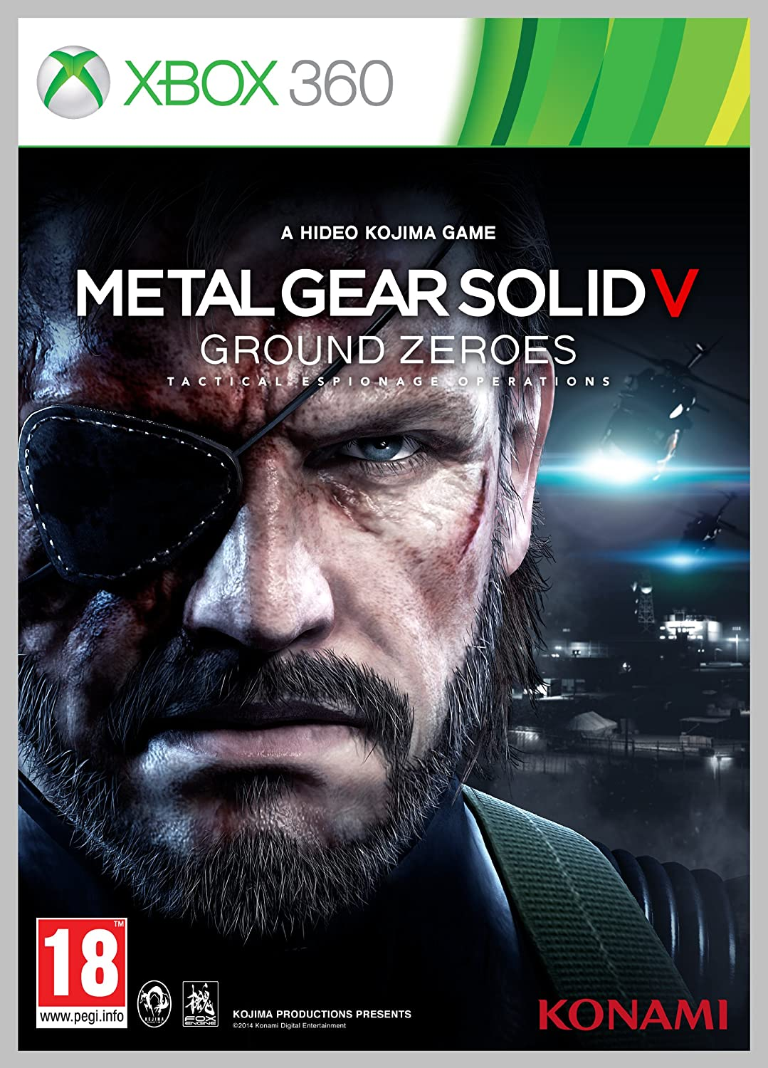 Metal Gear Solid V Ground Zeroes Xbox 360 Amazoncouk PC Video Games