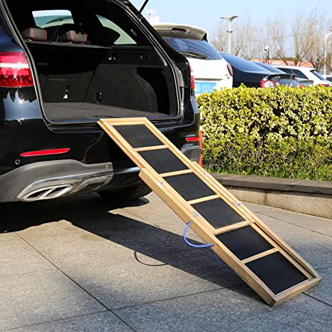 Ramp For Car >> Amazon Com Kinbor Pet Ramp 66 Inch Holds 100lbs Portable