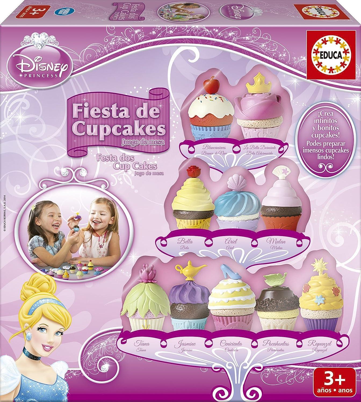 Educa Juegos - Disney Fiesta de Cup Cakes, juego de mesa (16142 ...