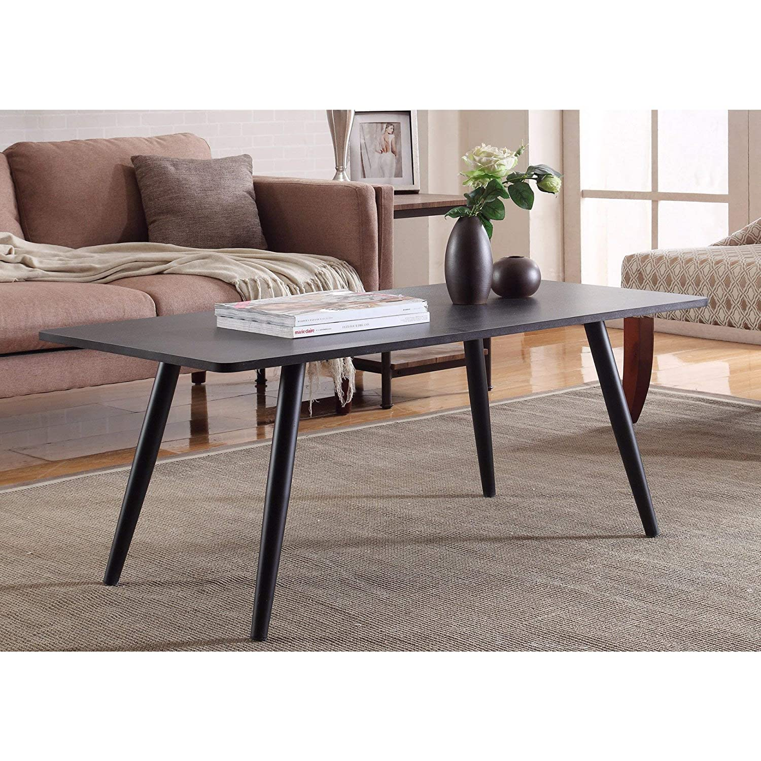 Amazon com madison home modern and simply designed coffee table white kitchen dining