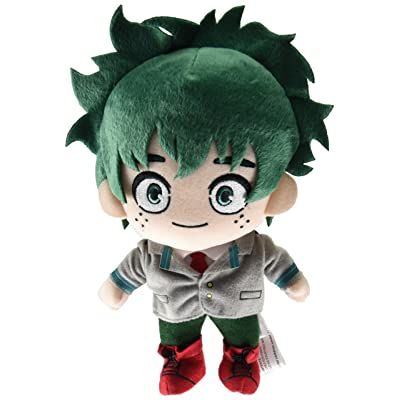 "Great Eastern Entertainment My Hero Academia- Midoriya Uniform Plush 8"" H: Toys & Games"