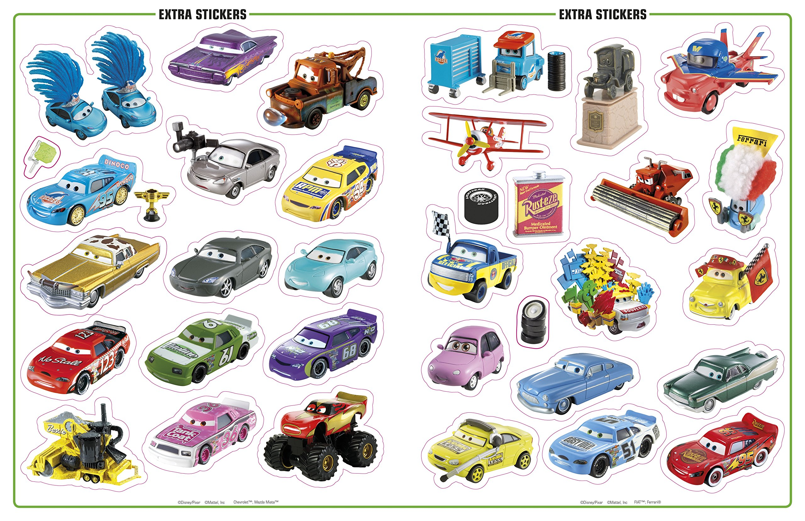 Ultimate Sticker Collection: Disney Pixar Cars (Ultimate Sticker Collections) by DK Publishing Dorling Kindersley (Image #5)