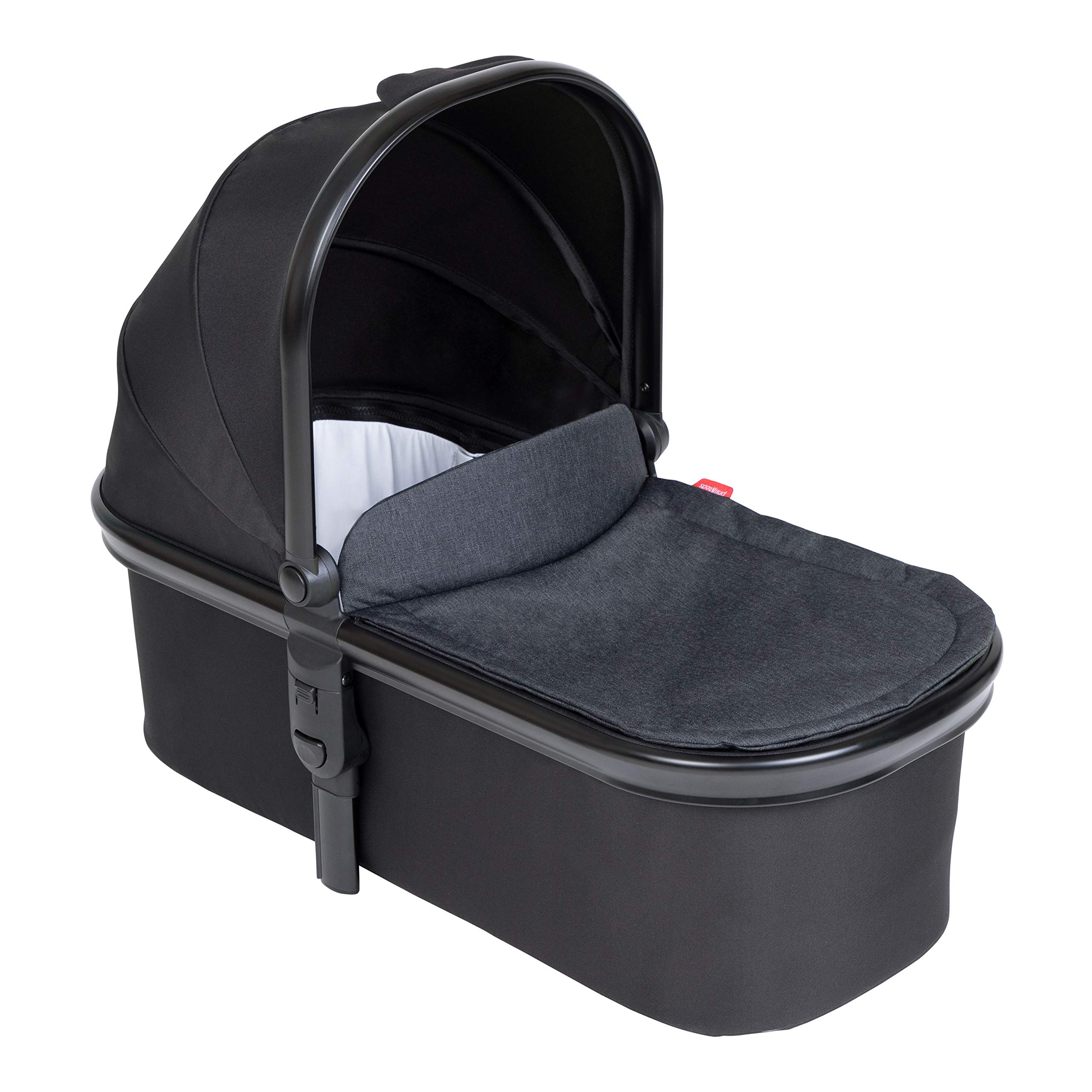 phil&teds Inline Newborn Carrycot, Black