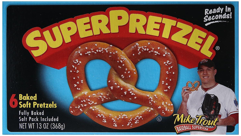 SuperPretzel, Soft Pretzels, 13 oz (Frozen)