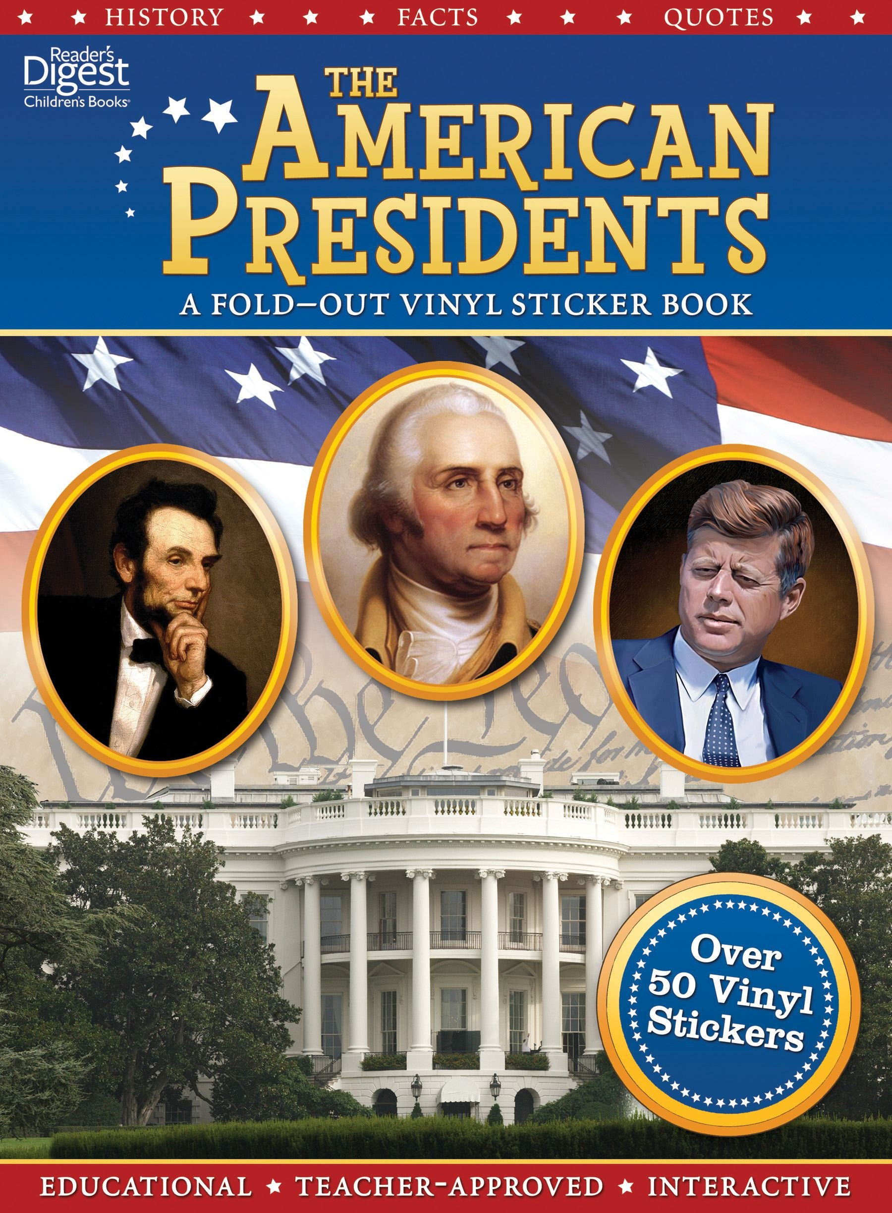 The American Presidents (Fold-out Vinyl Sticker Book)