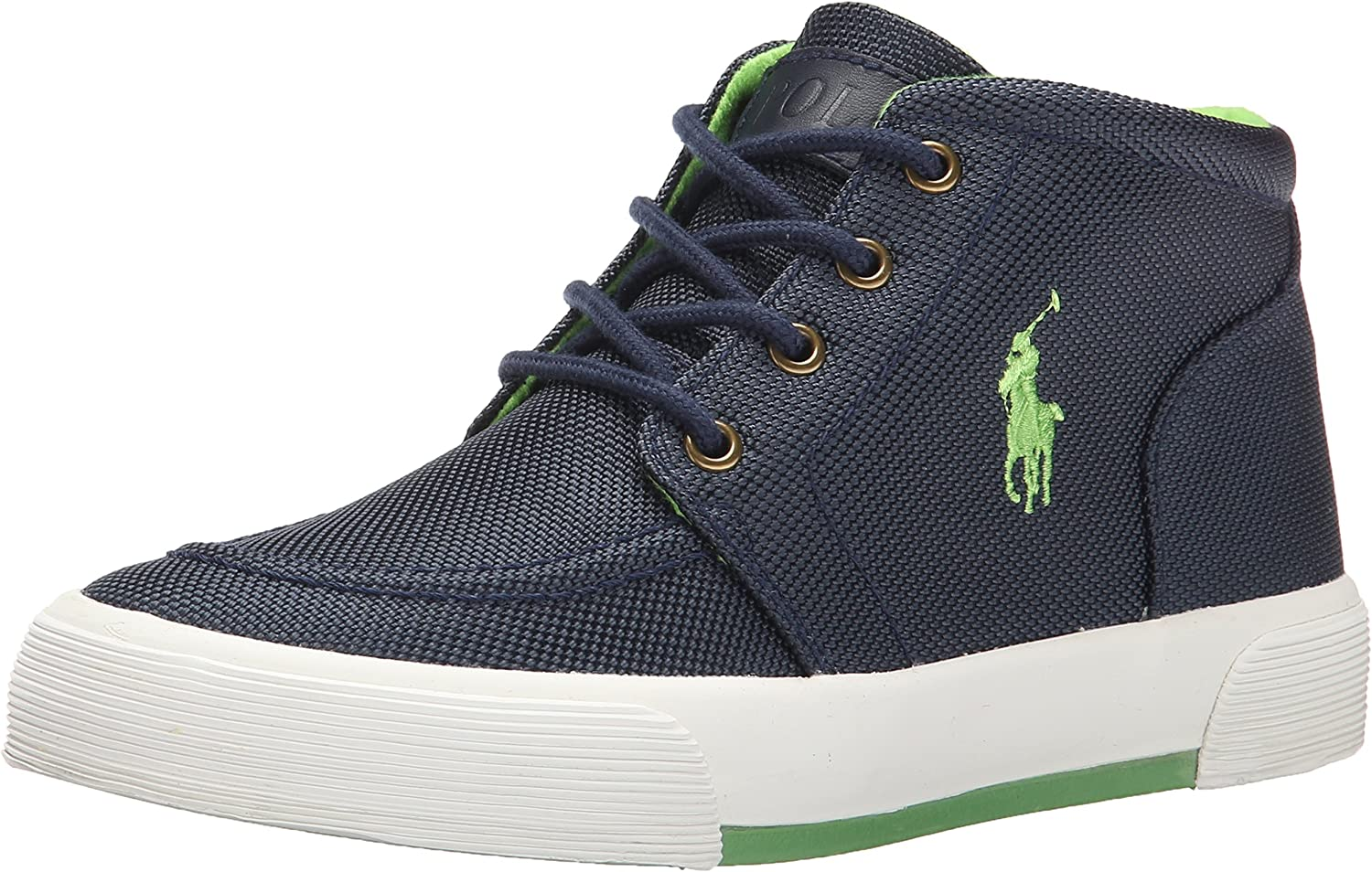 Polo Ralph Lauren Kids Faxon II Canvas Sneaker Toddler//Little Kid//Big Kid