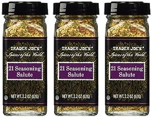 Trader Joe's 21 Seasoning Salute 2.2oz (Pack of 3)