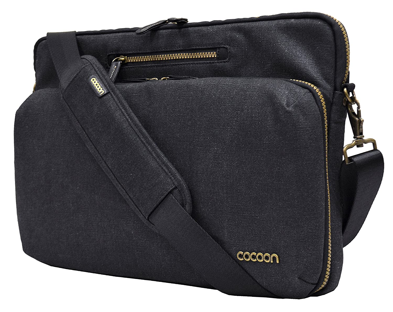 Cocoon Innovations Urban Adventure Messenger Sling MMS2604BK for 15//16 MacBook Pro Laptops