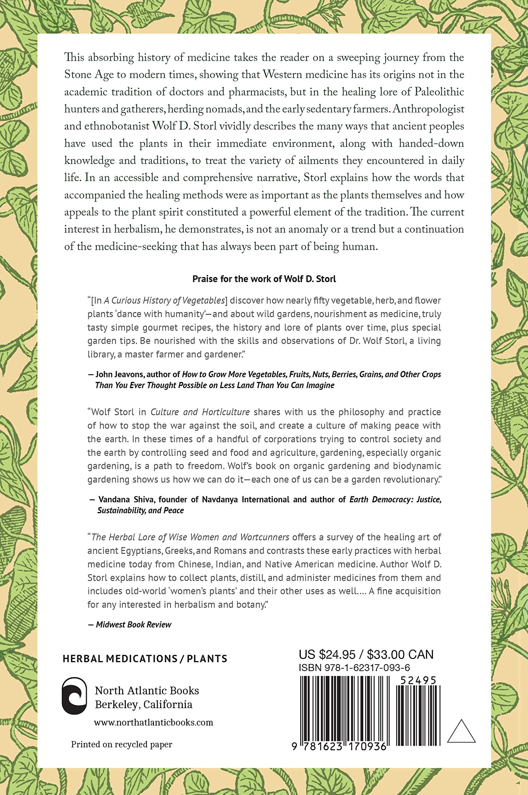 The Untold History of Healing: Plant Lore and Medicinal Magic from