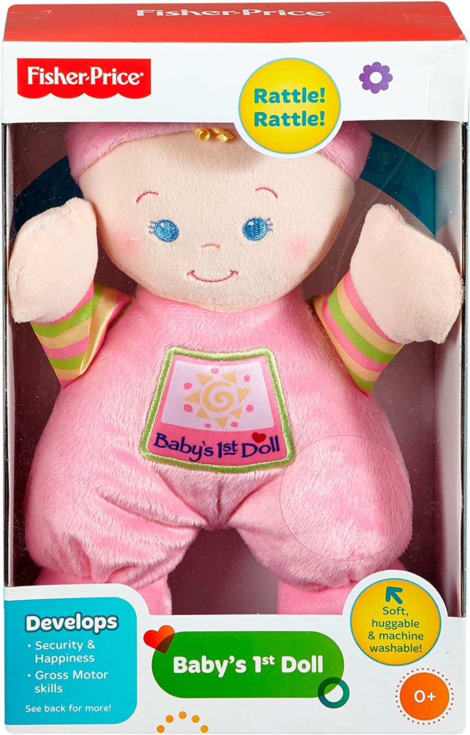 Amazon.com: Primera muñeca del bebé Brilliant ...