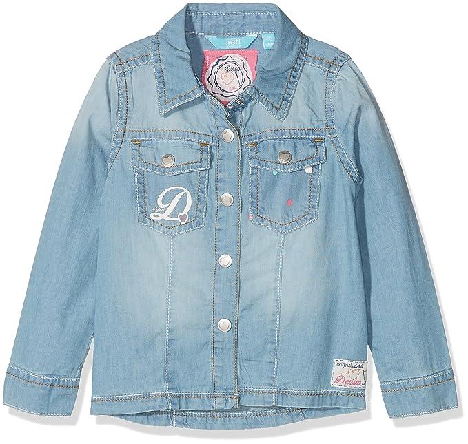 Lifestyle Bluse 1/1 Arm Jeans, Niñas, Azul (Light Blue