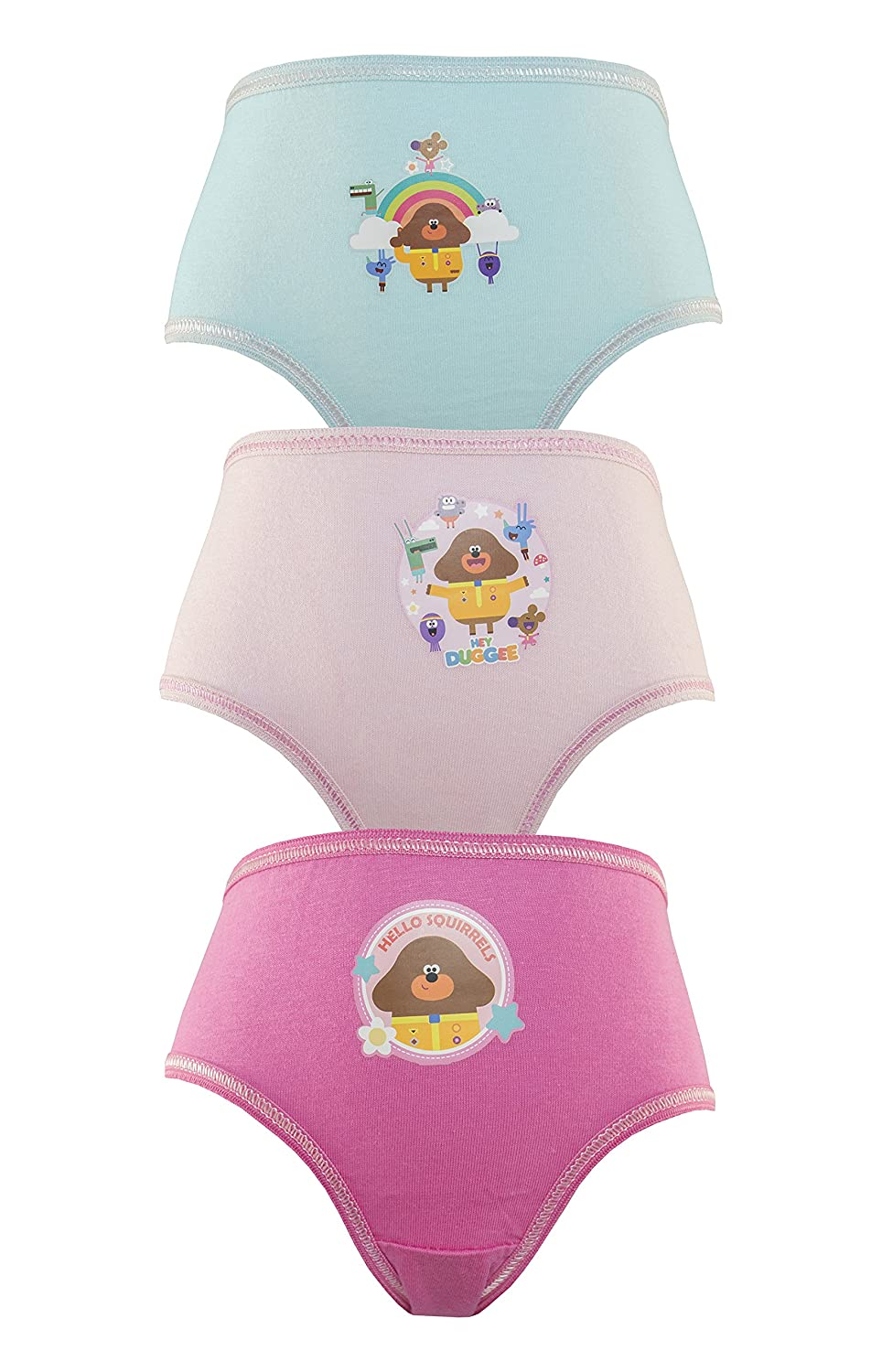 Cartoon Character Products CBeebies Hey Duggee Girls Pants/Knickers Various Designs 18months - 5 Years