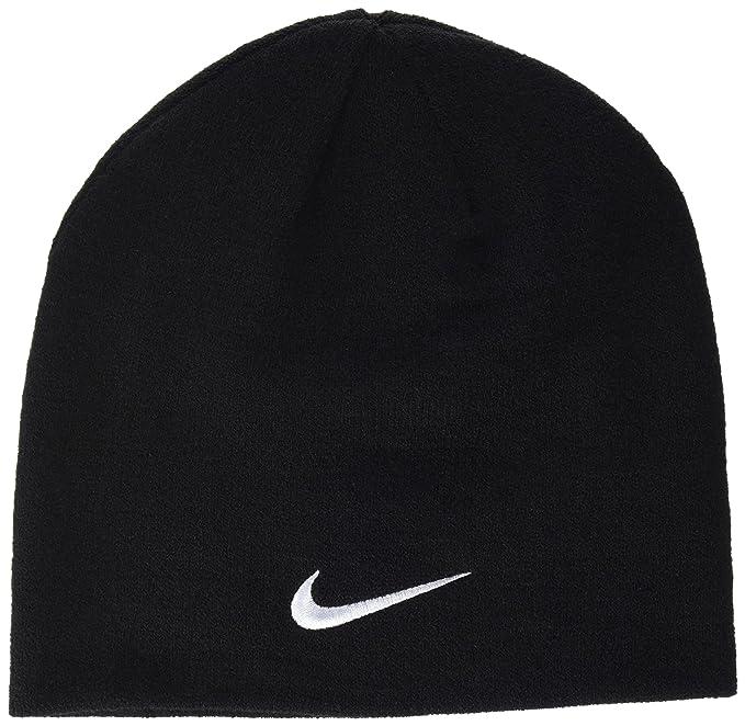 38b612f518ea9a Nike Men's Team Performance Beanie, Obsidian/White, One size: Amazon.co.uk:  Clothing