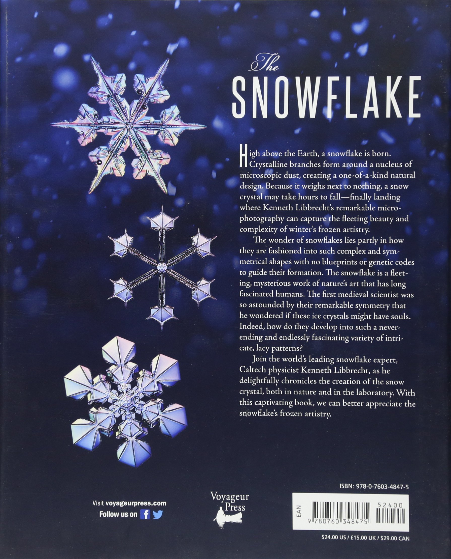 Amazon.com: The Snowflake: Winter's Frozen Artistry (9780760348475): Kenneth  Libbrecht, Rachel Wing: Books