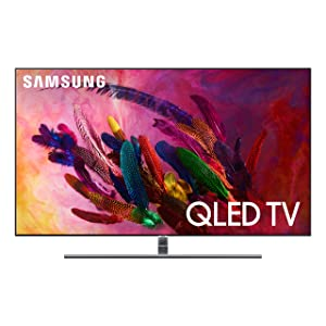 "Amazon com: Samsung QN55Q8FN FLAT 55"" QLED 4K UHD 8 Series Smart TV"
