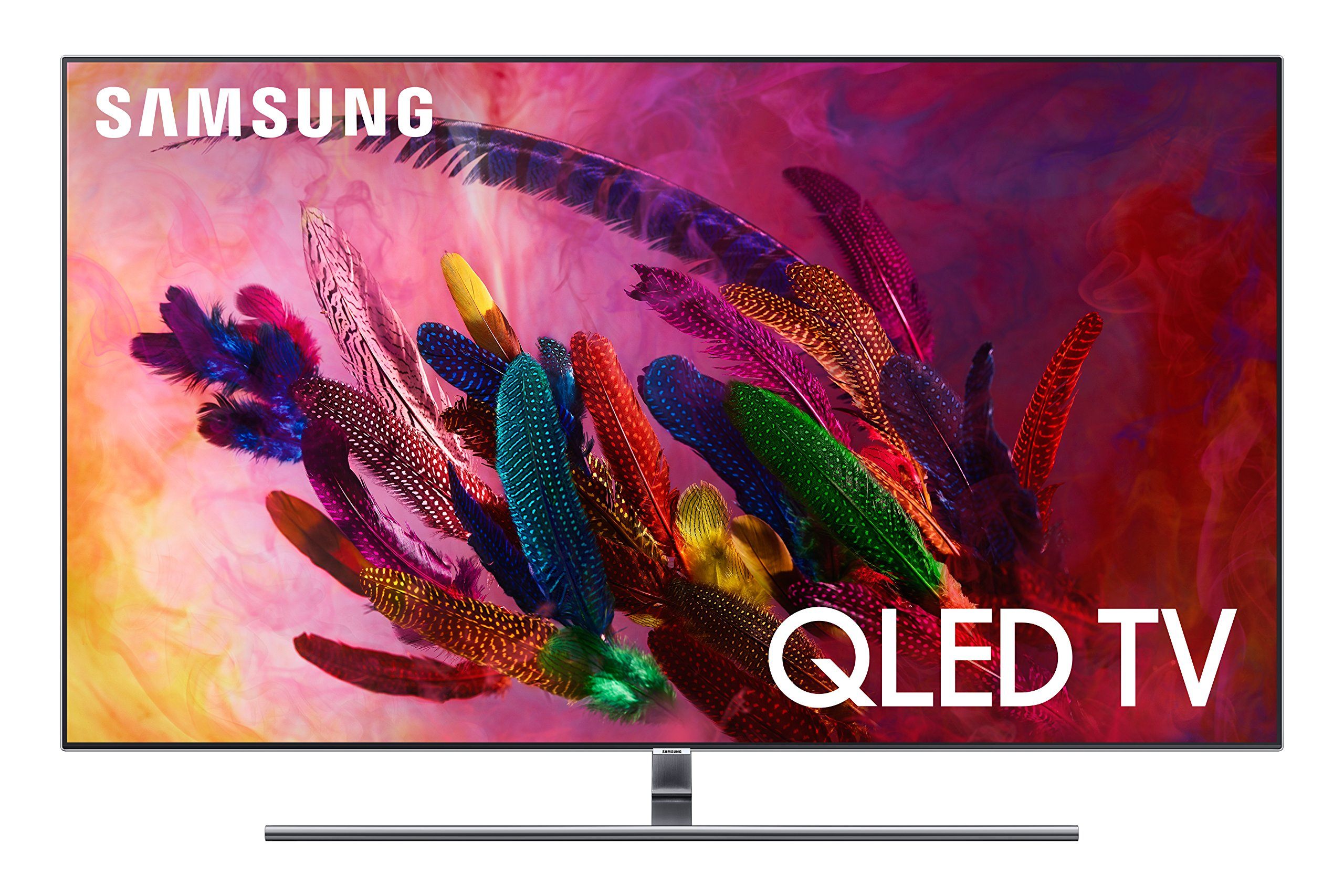 Samsung Flat QLED 4K UHD 7 Series Smart TV 2018 - 91yuNNBjkgL - Samsung Flat QLED 4K UHD 7 Series Smart TV 2018