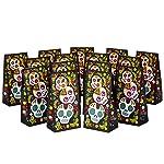 Hallmark - Bolsas de regalo para fiesta de Día de los Muertos para Halloween, Día de los Muertos, fiestas de otoño y más