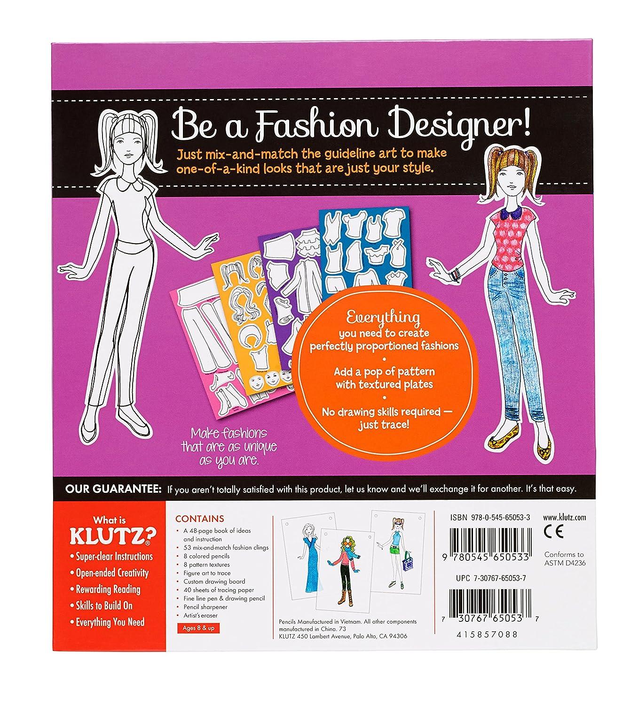 Klutz My Style Studio Book Kit Multicoloured 2 28 X 21 59 X 24 13 Cm Other