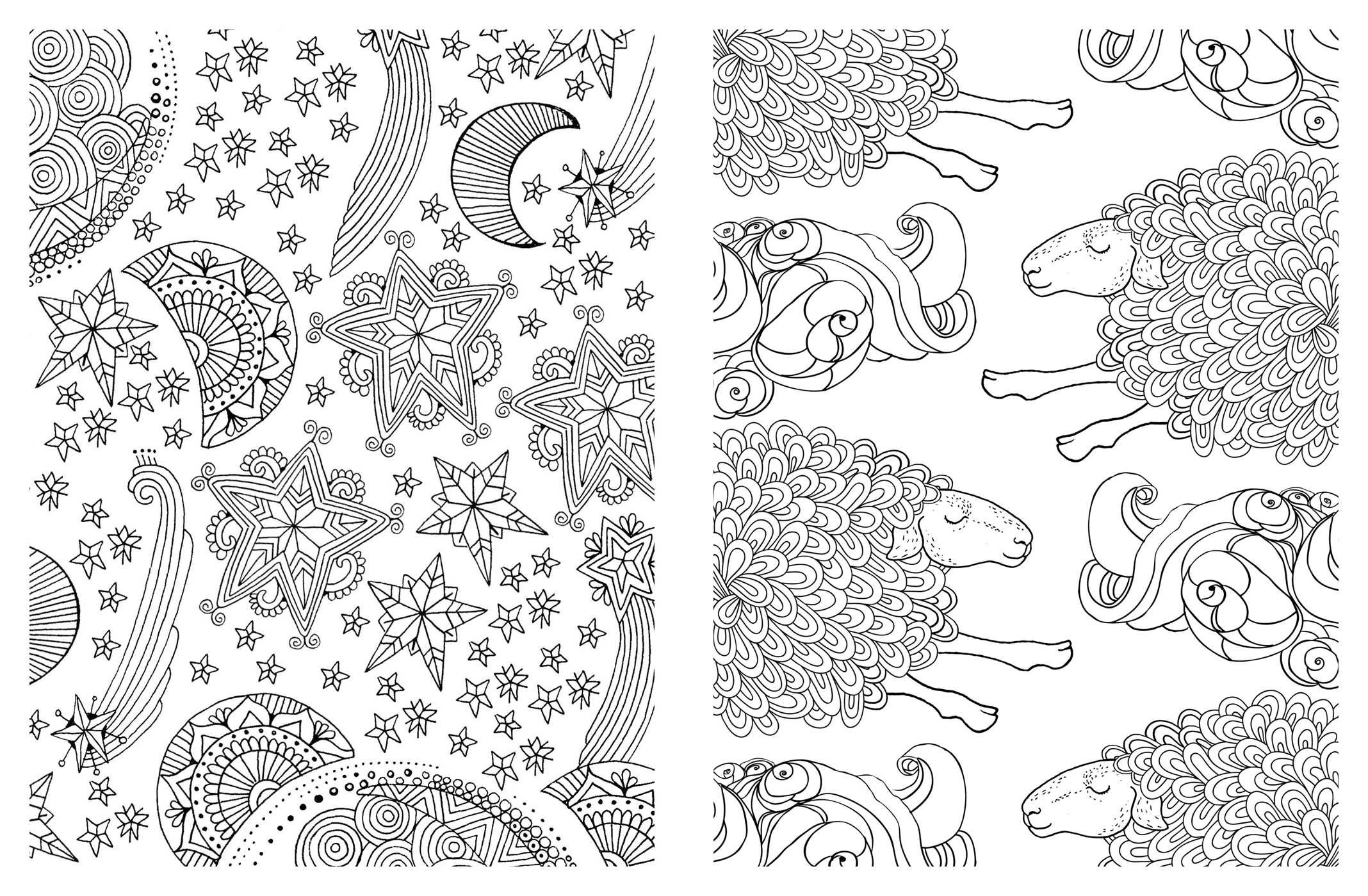 Amazon Posh Adult Coloring Book Soothing Designs for Fun