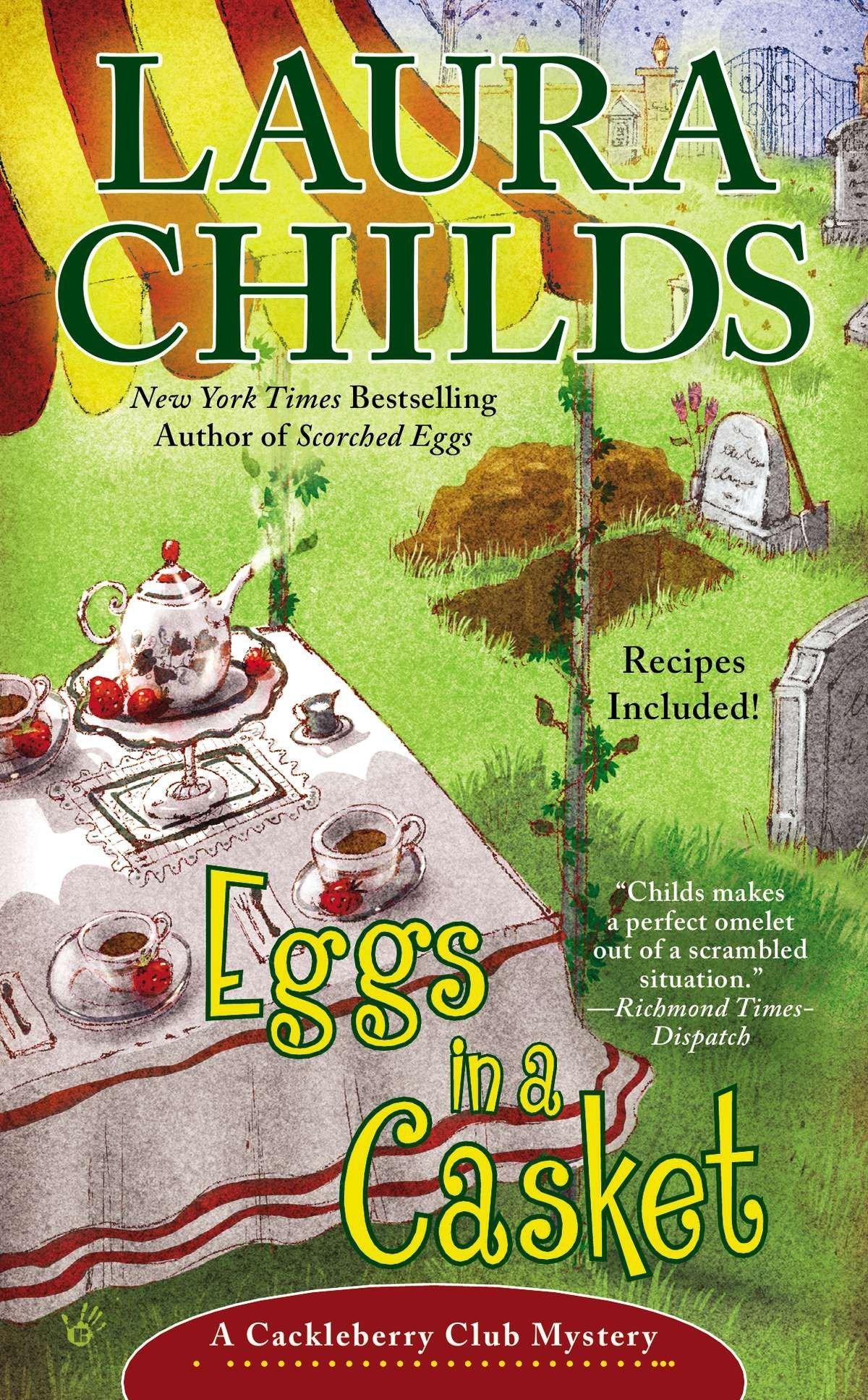 Eggs in a Casket (A Cackleberry Club Mystery) ebook