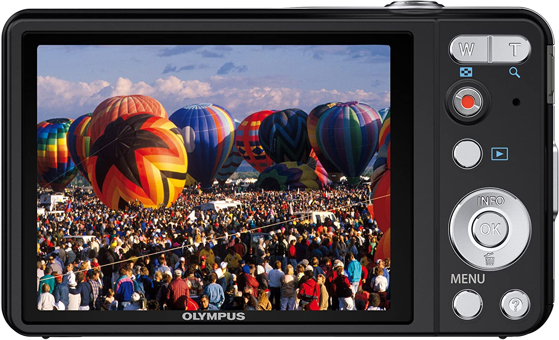 Olympus Vg 160 Digitalkamera 3 Zoll Schwarz Kamera